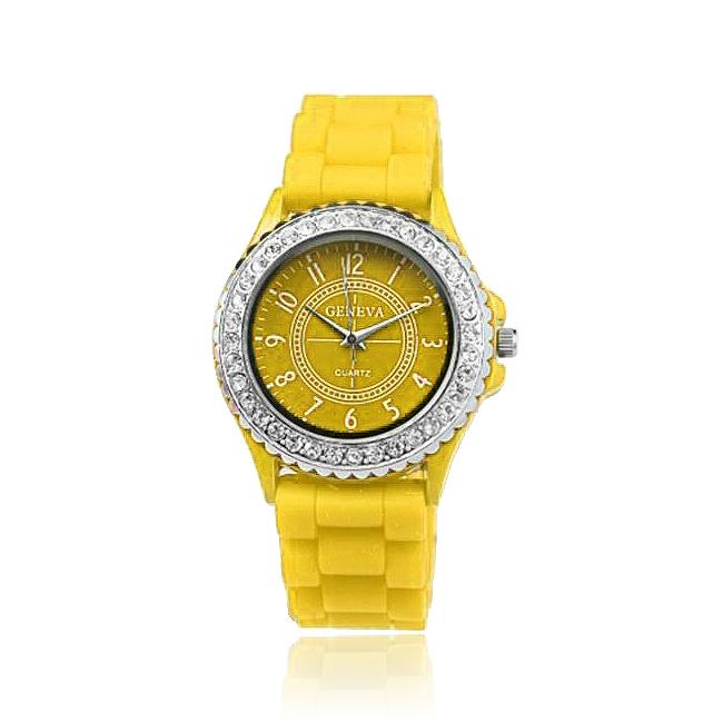 FREE Geneva Crystal Gummy Watch