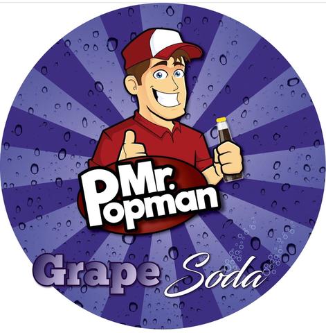 Mr Popman Grape Soda 80ml
