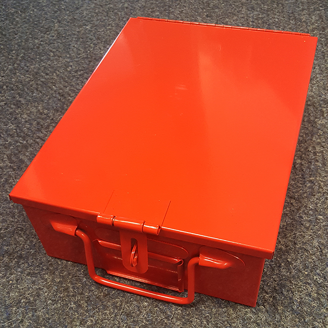 Security Cash Document Metal Safe Box