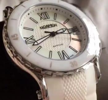Roamer Ladies Pure White Watch AEU980 4122 PE)