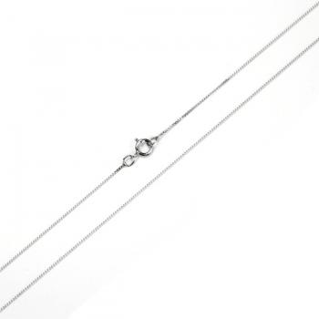 "18"" Sterling Silver Fine Curb Chain"