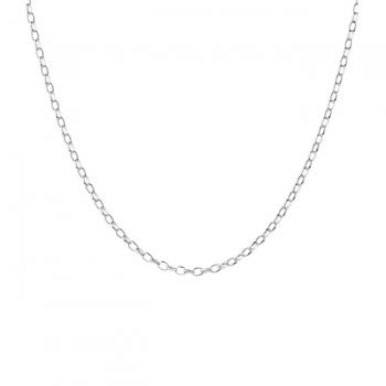 "18"" Sterling Silver Belcher (25) Chain"