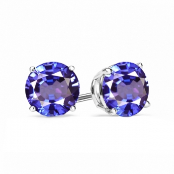 1ct Tanzanite Earrings