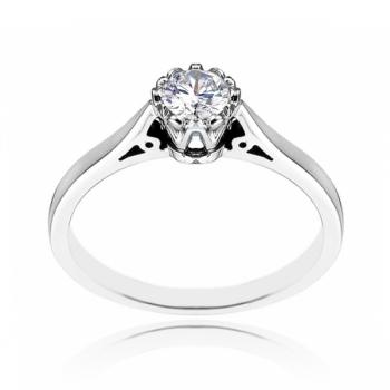 20pt Sterling Silver Ring Made With Swarovski