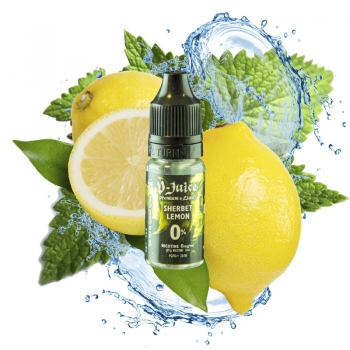 3 X Vjuice Sherbert Lemon