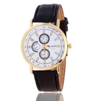 Black Tachymeter Watch