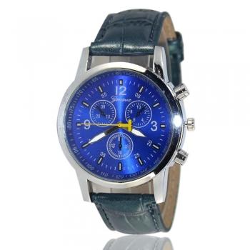 Blue Geneva Watch