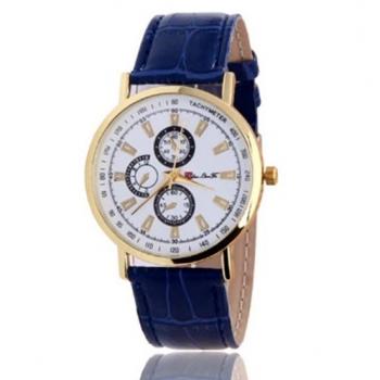 Blue Tachymeter Watch