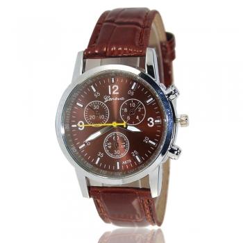 Brown Geneva Watch