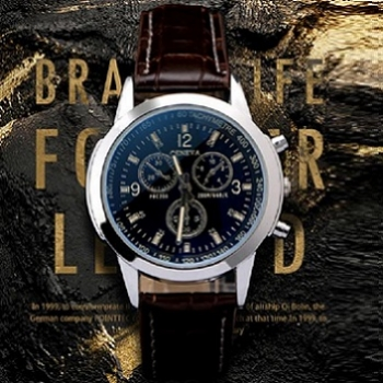 Brown Tachymeter Watch