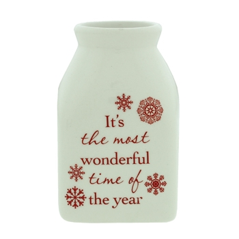 Ceramic Christmas Vase