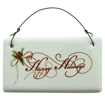 Ceramic Christmas Decoration