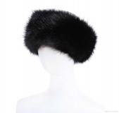 Faux Fur Headband.