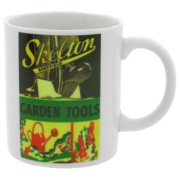 Garden Tools Mug - Skeltons Sheffield
