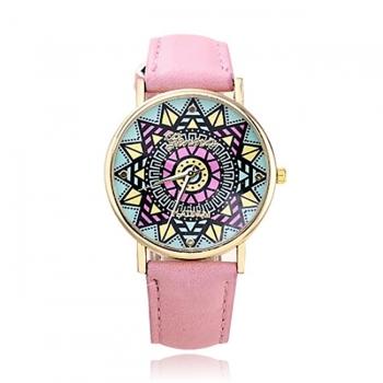 Geneva Mandala Style Watch