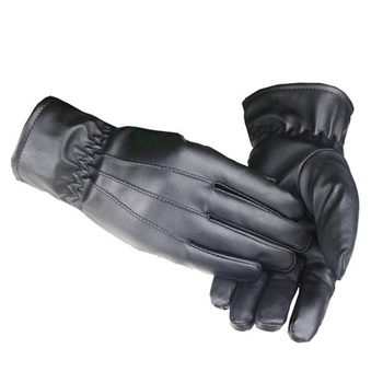 FREE Gents Leather Look Gloves