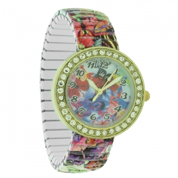 Ladies Fashion Summer Expandable  Watch