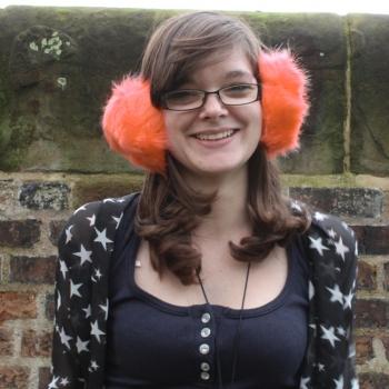 Ladies Peach Ear Muffs