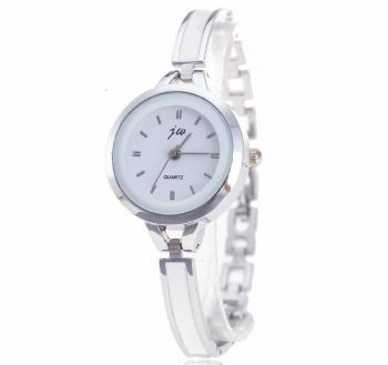 Ladies Silver JW Watch