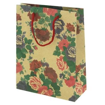 Large Floral Gift Bag