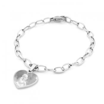 Personal Anastasia' Heart Charm Bracelet