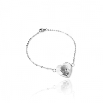 "Personal ""Aphrodite"" Heart Chain Bracelet"