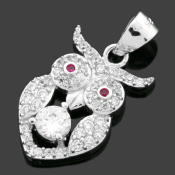 FREE Silver Owl Pendant