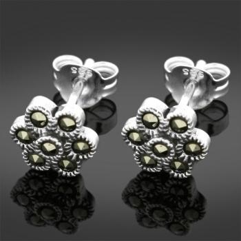 FREE Silver & Marcasite Earrings