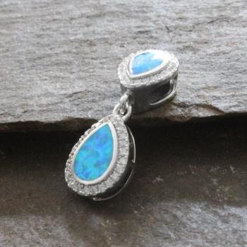 Silver & Opal Pendant