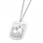 Photo Engraved Dogtag