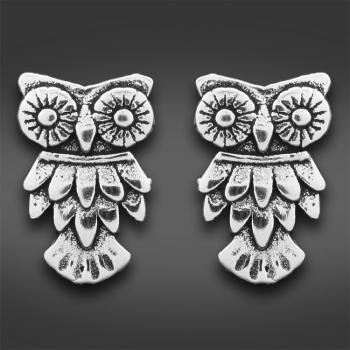FREE Sterling Silver Owl Earrings