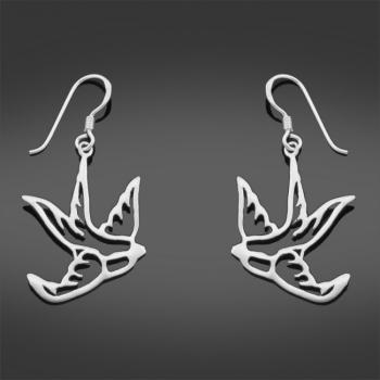 FREE Sterling Silver Bird Earrings