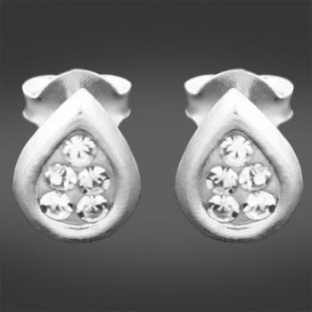 FREE Sterling Silver & Crystal Earrings