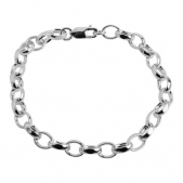 Sterling Silver Gents Bracelet