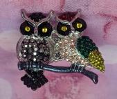Stoneset Owl Ring