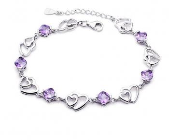 Stunning Heart Bracelet