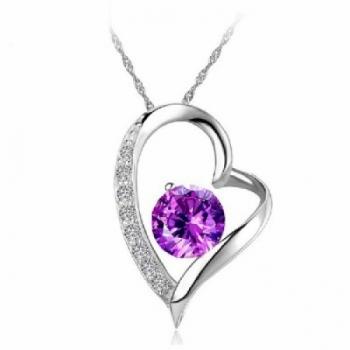 Stunning Heart Necklace.