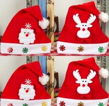 Surprise Santa Hat