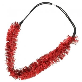 Tinsel Christmas Headband