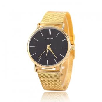 Unisex Geneve Mesh Quartz Watch