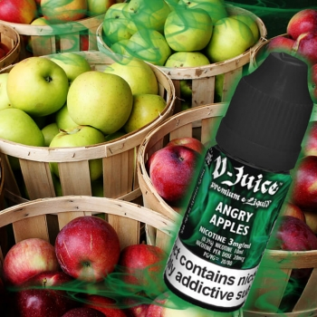 Vjuice Angry Apples 10ml 80/20