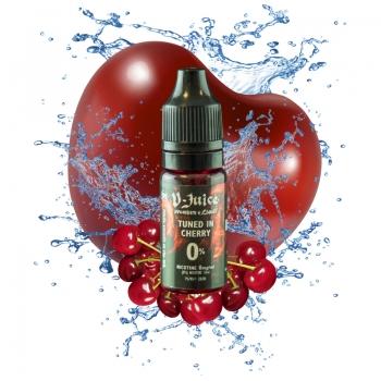 Vjuice Tuned In Cherry 10ml 50/50