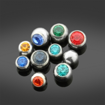 X10 Assorted Surgical Steel Ball Ends