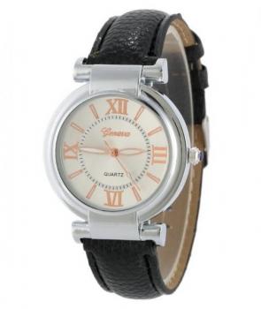 Elegant Geneva Women's Black Watch