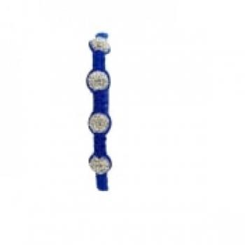 Four Bead Shambala Bracelets - Blue
