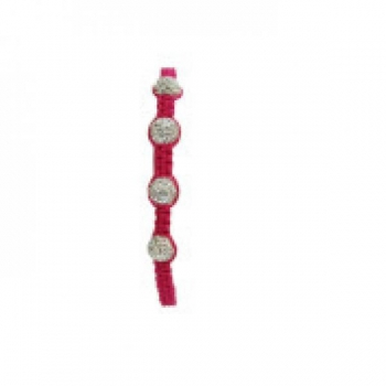 Four Bead Shambala Bracelets - Pink