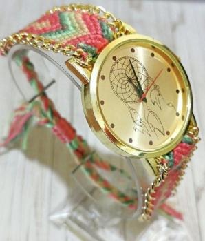 Ladies Dreamcatcher Braided Band Watch