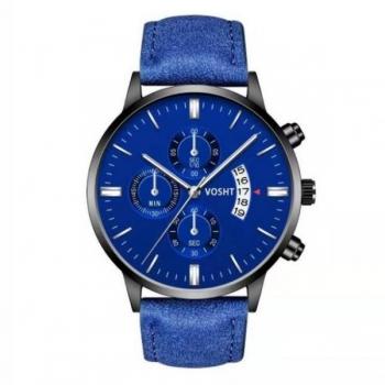 Mens Blue Vosht Watch