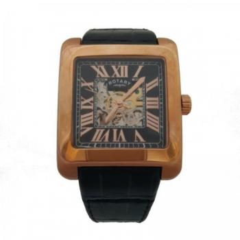 Rotary GLE0009/10 Skeleton Watch